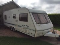 Twin Axle 4 Berth Caravan