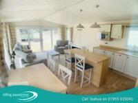 Luxury Lodge for sale on Lake plot! Call Josh 07955825040 FREE FEE'S & DECKING