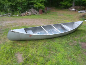 Princecraft Aluminum Canoe from the 1960's
