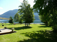 WATERFRONT ON KOOTENAY LAKE...BREATHTAKING!