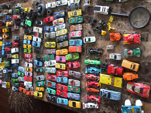 Vintage Matchbox , Hot Wheels and Tonka cars and trucks