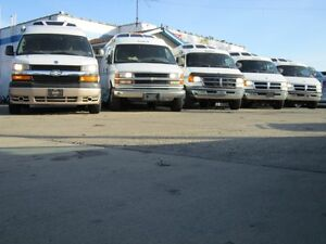 Large selection of class B , van camper RV