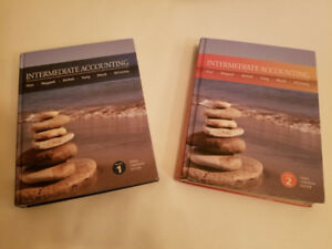 Intermediate Accounting Volume 1 and 2 Textbooks