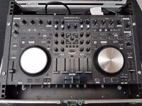 Denon MC6000MK2 DJ Controller with Serato DJ in Swan Flightcase