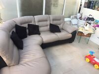 Corner sofa from dfs brought 6 months ago... 6 dinning chairs & dinning table £400