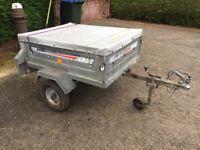 ERDE 122 car trailer