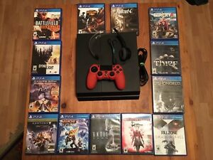 PS4 with 13 games