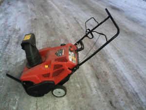 Troy built 21 inch snow blower