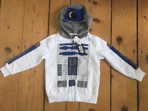 Star Wars R2D2 Hoodie Size 4T