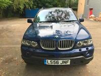 BMW X5 3.0d auto 2006 Le Mans Blue Sport Edition PAN ROOF / SAT NAV / TV
