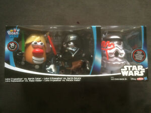 Ensemble de 3 bonhommes M. Patate Star Wars