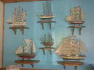 12 Tall Ships & HIstory Book all in excelleny condition