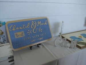 Custom Wedding Signs:  A unique and personalized wedding gift!