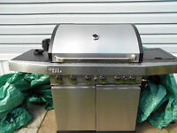 Grill Chef Stainless Steel Propane Barbeque