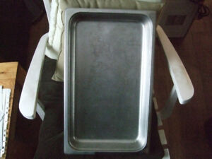 Steam Table Stainless Steel Tray with SS Gravy Boat