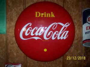 1960 Coca Cola Button
