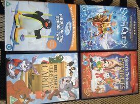 4 x DVDs children