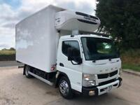 2016 16 Mitsubishi Canter 7c15 Euro 6 15ft fridge box Thermo king T-800 freezer