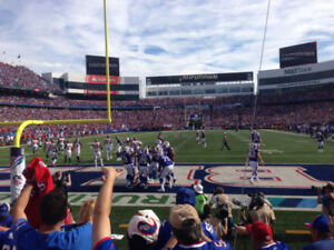 Buffalo Bills vs Detroit Lions Tickets - In The Action - Row 5
