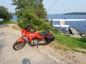 1987 BMW K75c - Well maintained - Touring Set Up
