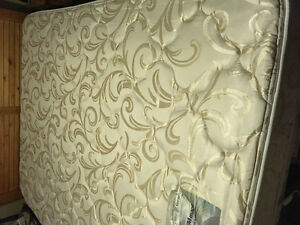 Queen sized double-sided pillow top mattress