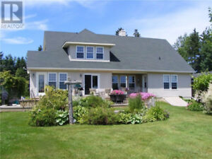 Waterfront property, open concept, panoramic view