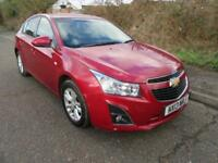 2013 CHEVROLET CRUZE 1.6L 124PS LT AUTOMATIC PETROL 5 DOOR HATCHBACK