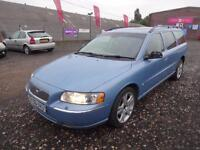 VOLVO V70 2.4 SE 170 AUTO~06/2006~5 DOOR ESTATE~STUNNING METALLIC SKY BLUE