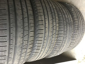 Set of 4 Pirelli Scorpion Verde A/S tires Only $120 for set!!!