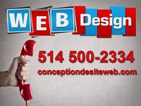 Conception site web, site internet Pro à prix modique