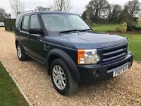 2007 07 LAND ROVER DISCOVERY 2.7 3 TDV6 XS 5D 188 BHP DIESEL