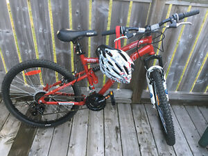 CCM Vandal full suspension mountain bike 1 or 2 available.