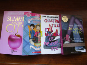 4 French YA Teen books Francais Girls Perfect Condition