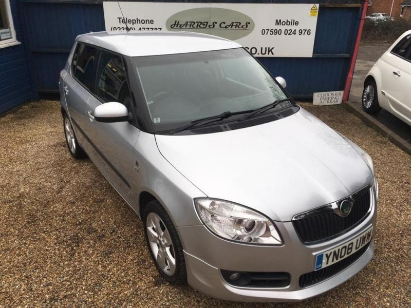 2008 skoda fabia 1 6 16v sport 5dr in west end hampshire gumtree. Black Bedroom Furniture Sets. Home Design Ideas