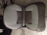 Folding boat seat, 17' boat cover
