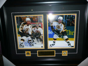 Autographed and framed - Ray Bourque - Boston Bruins