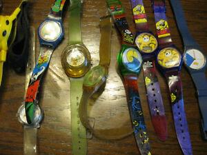 assorted vintage kids watches, disney, starwars, etc Windsor Region Ontario image 3