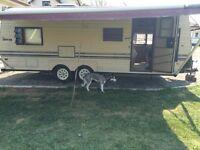 87 Sierra travel trailer 24ft