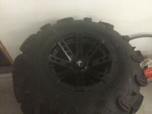 "12"" REMINGTON RIMS / 27"" ZILLIAS"