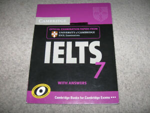 University of Cambridge IELTS Examination/Study Books-$5 each
