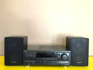 Technics amp and Realistic Minimus 11 speakers