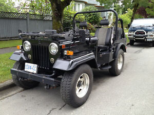 Willys Style Jeep by Mitsubishi Turbo Diesel 4X4