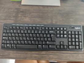 US Layout Logitech Keyboard and Mouse Combo