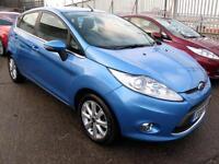 2010 10 Ford Fiesta 1.4TDCi Zetec Diesel 5 Door 96K 8 Stamps Just Sevice £20 Tax