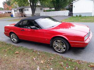 1992 Cadillac Allante cuir Cabriolet