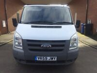59 2010 FORD TRANSIT SWB HPI CLEAR SEVICE HISTORY LONG MOT STUNNING CONDITION £3795