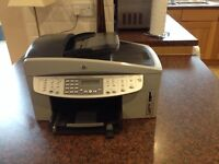 HP OfficeJet 7210 All in One Printer Fax Scanner Copier