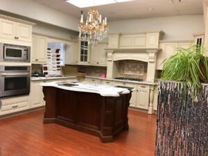 Antique White maple wood kitchen on Promotion now!!