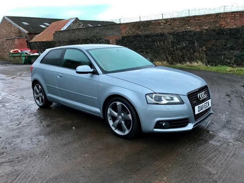 2011 audi a3 2 0 tdi black edition quattro 3dr in lochgelly fife gumtree. Black Bedroom Furniture Sets. Home Design Ideas