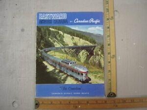 "Canadian Pacific Railway ""Eastward Across Canada"" magazine"